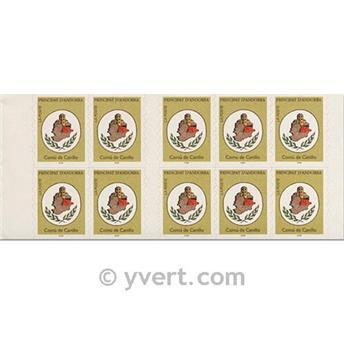 nr. 6 -  Stamp Andorra Booklets