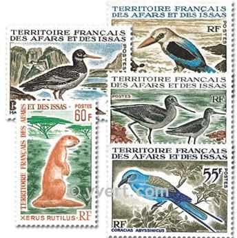 nr. 329/333 -  Stamp Afars and Issas Mail