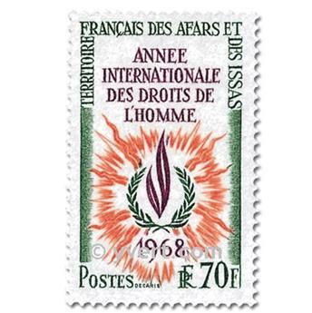 n° 341/342 -  Timbre Afars et Issas Poste