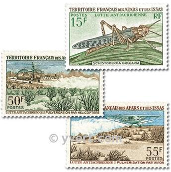 n° 351/353  -  Selo Afars e Issas Correios