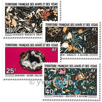 n° 368/371 -  Timbre Afars et Issas Poste