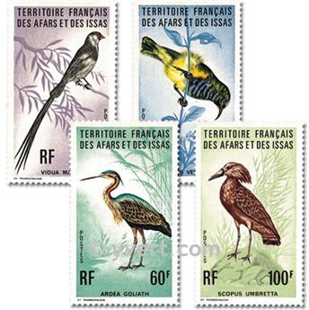 nr. 410/413 -  Stamp Afars and Issas Mail