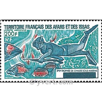 nr. 99 -  Stamp Afars and Issas Air mail
