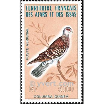 n° 105 -  Timbre Afars et Issas Poste aérienne