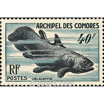 n.o 13 -  Sello Comoras Correos