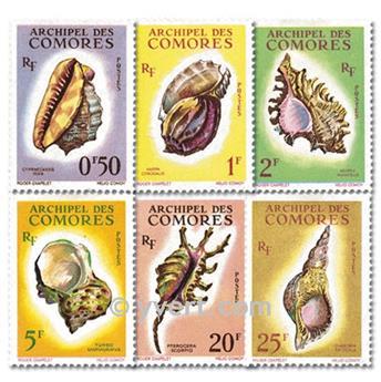n.o 19 / 24 -  Sello Comoras Correos