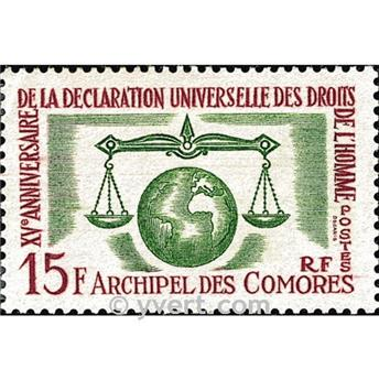 nr. 28 -  Stamp Comoro Island Mail