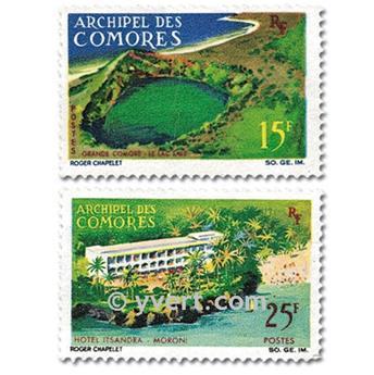 n° 39/40 -  Selo Comores Correios
