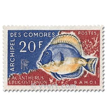 n° 47/48 -  Selo Comores Correios