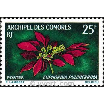 n° 56 -  Timbre Comores Poste