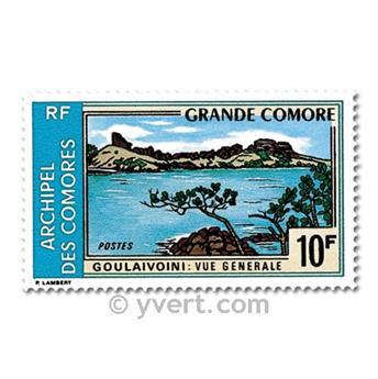 n° 80/83 -  Selo Comores Correios