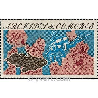 n° 104 -  Timbre Comores Poste