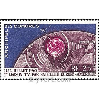 n° 7 -  Timbre Comores Poste aérienne