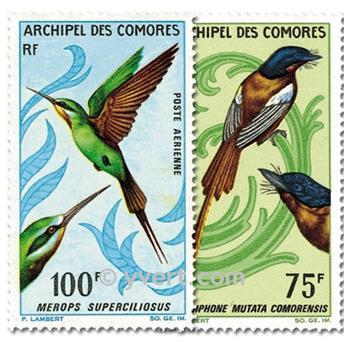 n.o 20 / 21 -  Sello Comoras Correo aéreo