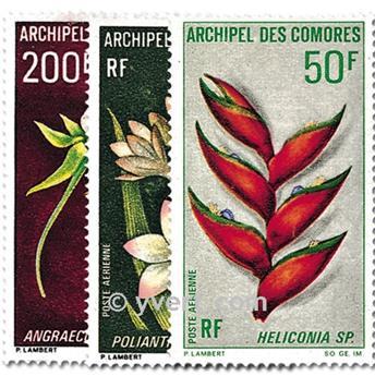 n° 26/28 -  Timbre Comores Poste aérienne