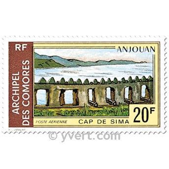 nr. 45/48 -  Stamp Comoro Island Air mail