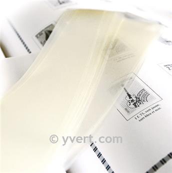 Tiras soldura simples -  33 mm (Fundo transparente)