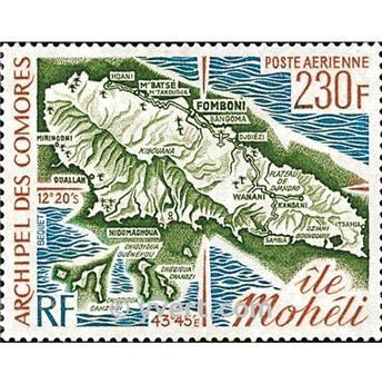 n° 67 -  Timbre Comores Poste aérienne