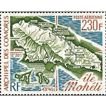 nr. 67 -  Stamp Comoro Island Air mail
