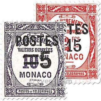 n° 140/153 -  Timbre Monaco Poste