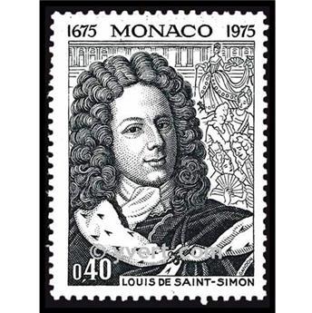 nr. 1010 -  Stamp Monaco Mail