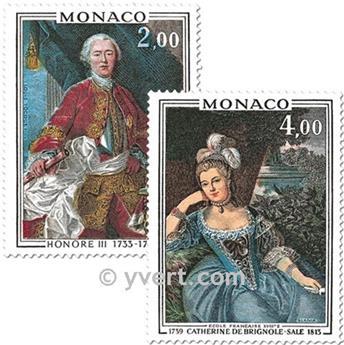 n.o 1029/1030 -  Sello Mónaco Correos