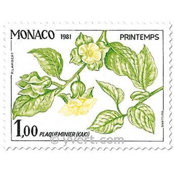 n° 1302/1305 (BF 20) -  Timbre Monaco Poste