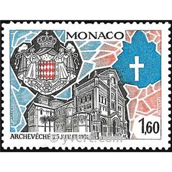n° 1331 -  Timbre Monaco Poste
