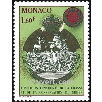 n° 1338 -  Timbre Monaco Poste