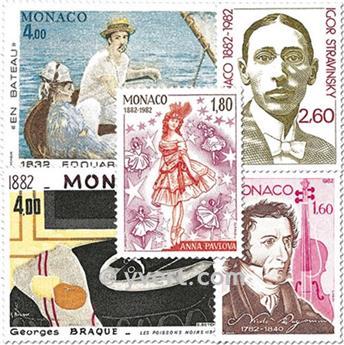 n.o 1344/1348 -  Sello Mónaco Correos