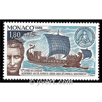 n.o 1357 -  Sello Mónaco Correos