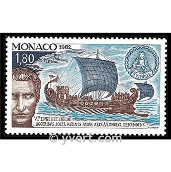 nr. 1357 -  Stamp Monaco Mail