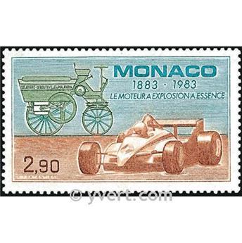 n° 1371 -  Timbre Monaco Poste
