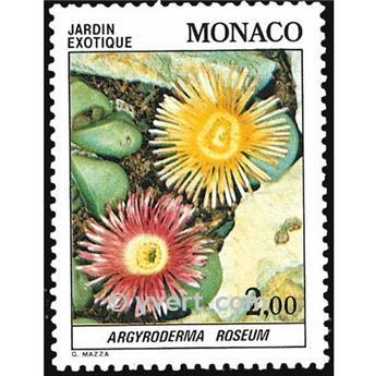 n° 1376 -  Timbre Monaco Poste