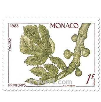 n° 1393/1396 (BF 26) -  Timbre Monaco Poste