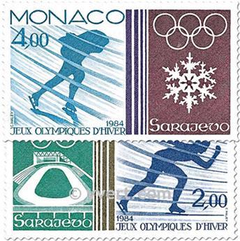 n° 1416/1417 -  Timbre Monaco Poste