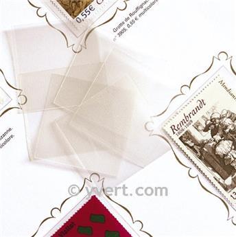 Pochettes simple soudure - Lxh:37x48mm (Fond transparent)