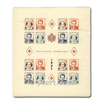 nr. 4B -  Stamp Monaco Souvenir sheets