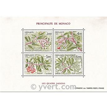 n° 36 -  Timbre Monaco Bloc et feuillets