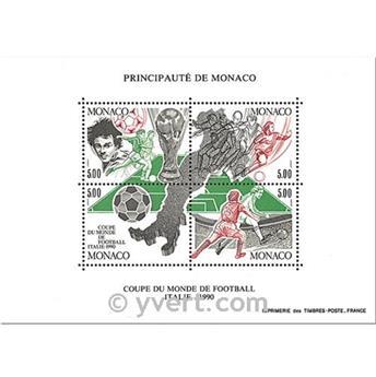 n.o 50 -  Sello Mónaco Bloque y hojitas