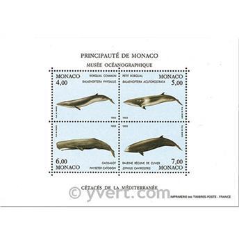 nr. 59 -  Stamp Monaco Souvenir sheets