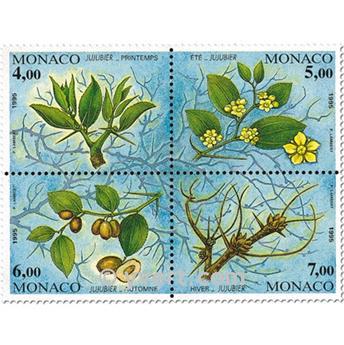 n.o 68 -  Sello Mónaco Bloque y hojitas