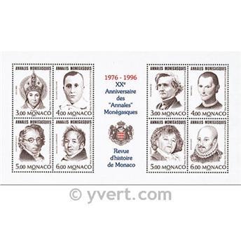 nr. 72 -  Stamp Monaco Souvenir sheets