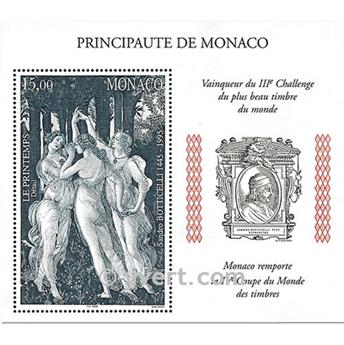nr. 77 -  Stamp Monaco Souvenir sheets