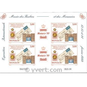 n° 81 -  Timbre Monaco Bloc et feuillets