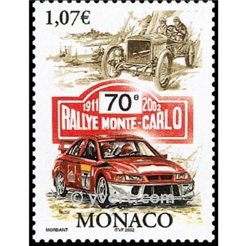 n.o 86 -  Sello Mónaco Bloque y hojitas