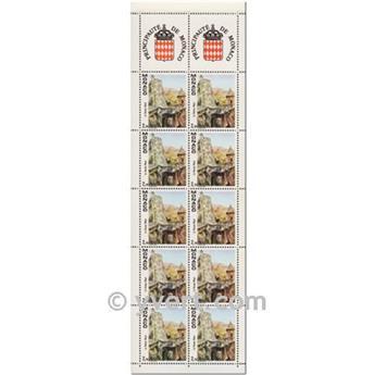nr. 5 -  Stamp Monaco Booklet Panes