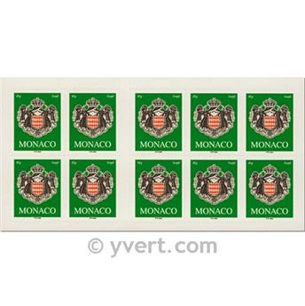 n° 14 -  Timbre Monaco Carnets