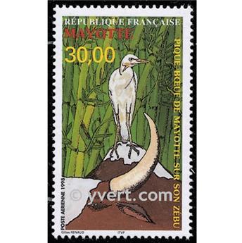 n° 3 -  Timbre Mayotte Poste aérienne
