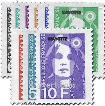 n° 32/41 -  Timbre Mayotte Poste